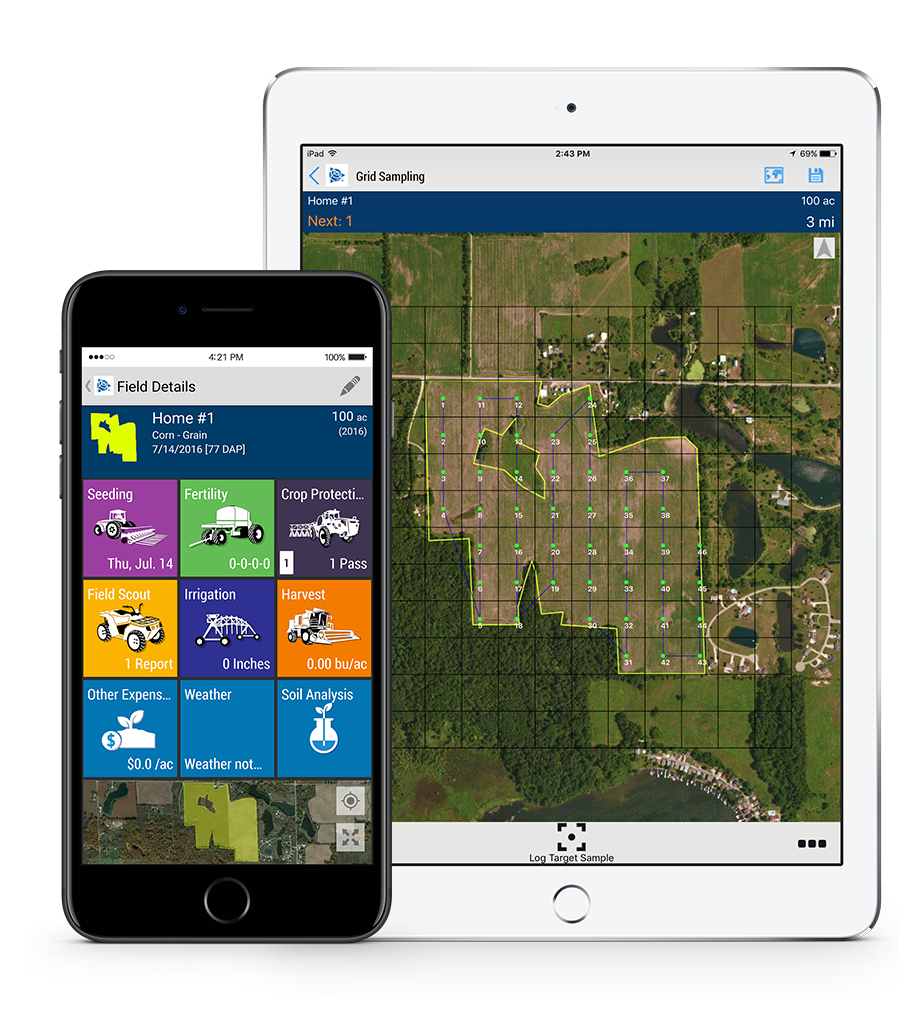 The farming app for farm management software on the go