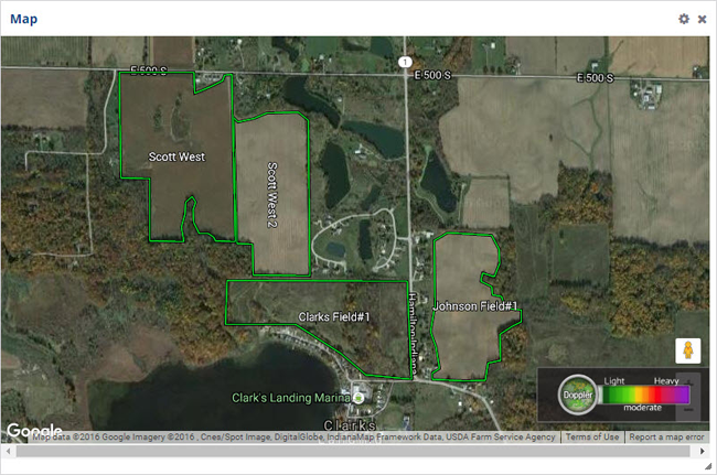 View your field boundaries with Farmer Starter.
