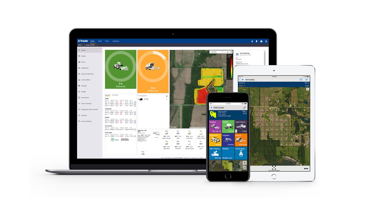 Trimble Ag Software 2018 Updates