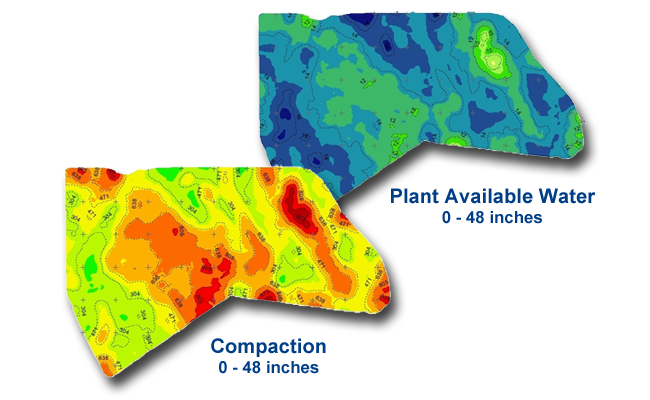 Crop advisors can use SIS soil maps for variable rate application.