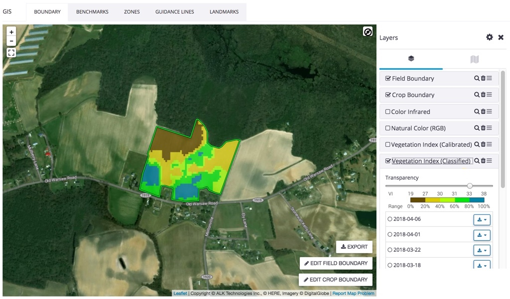 TrimbleManage map layers with Field Manager (GIS) online - Trimble