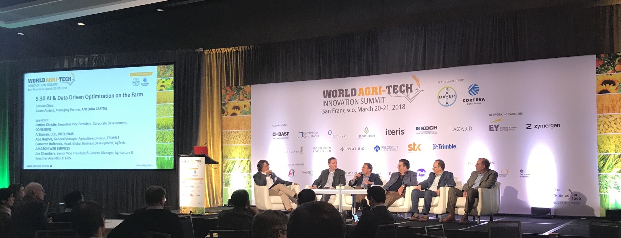 Abe Hughes World Agri-Tech Panel