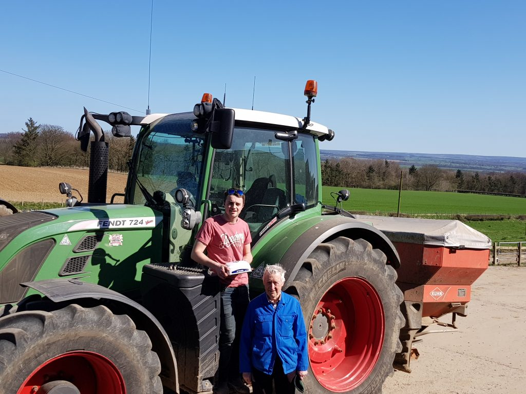 Digbys, Grandson and Grandfather Precision Ag