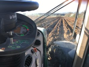 Autopilot installed for potato bedforming