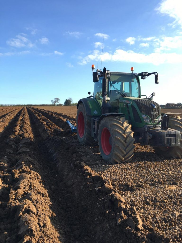 Potato beds with precision ag