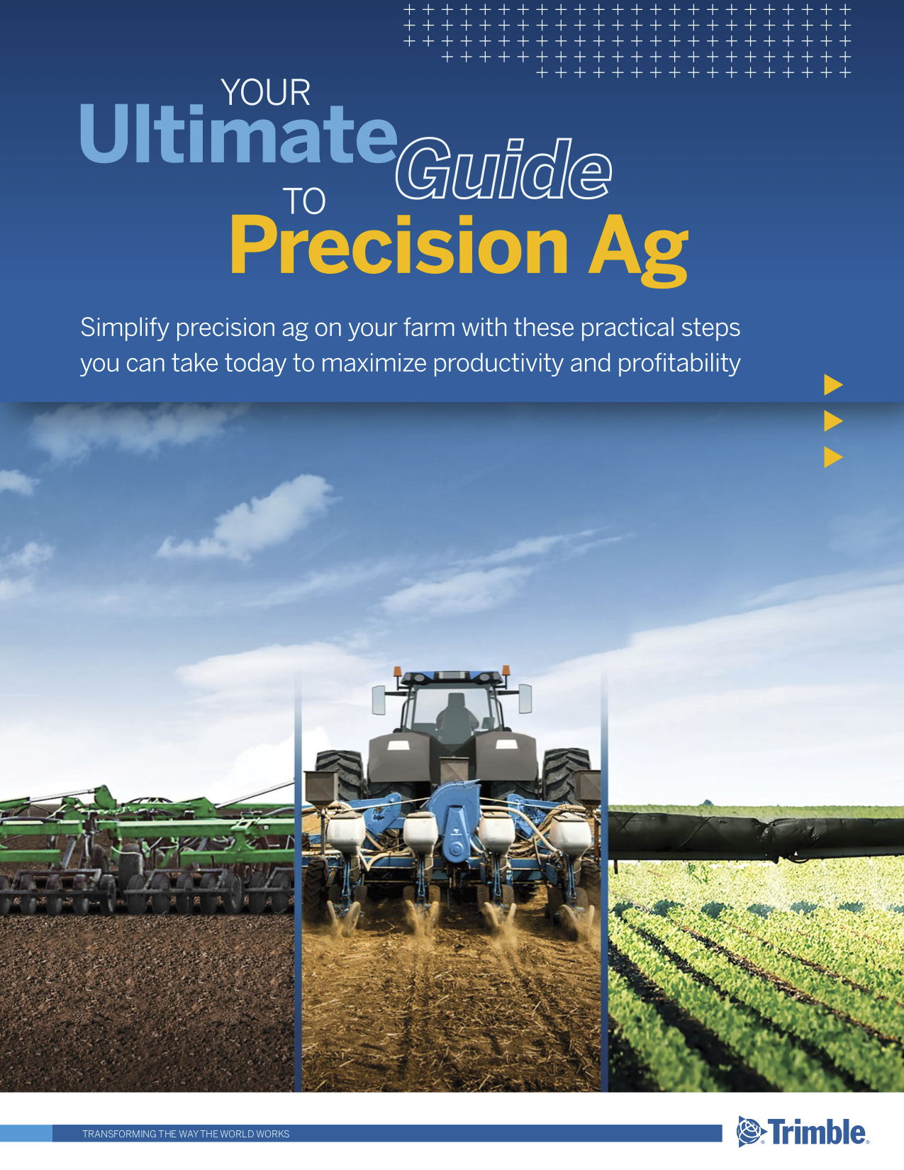 Your Ulitmate Guide to Precision Ag ebook cover