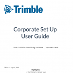 Thumbnail of cover of Corporate Set Up User Guide