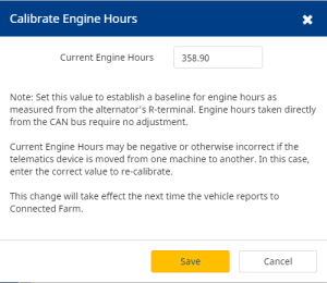Fleet_CalibrateEngineHours